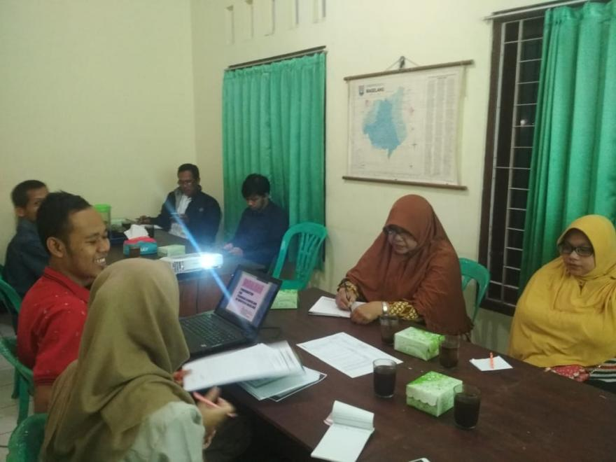 Image : Rapat pembentukan panitia pengisian anggota BPD